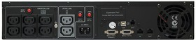 Фото 1/2 PR1000ELCDRT2U, Smart-UPS Professional Rackmount, Line-Interactive, 1000VA / 700W, Tower, IEC, LCD, Serial+USB, Smar
