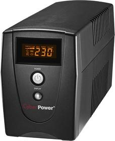 Фото 1/2 VALUE1000ELCD, Back-UPS Value SOHO, Line-Interactive, 1000VA / 550W, Tower, Schuko, LCD, Serial+USB