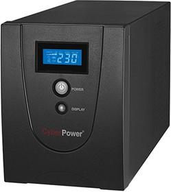 Фото 1/2 VALUE1500ELCD, Back-UPS Value SOHO, Line-Interactive, 1500VA / 900W, Tower, Schuko, LCD, Serial+USB