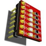 RDC1-0011, Светодиодный индикатор состояния выводов Arduino ...
