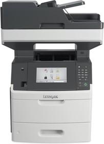 24T8017, MX710dhe серо-белый, лазерный, A4, монохромный, ч.б. 60 стр/мин, печать 1200x1200, скан. 600x600