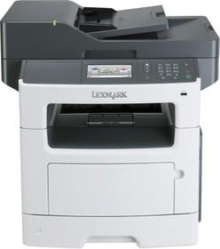 35S5804, MX511dhe белый, лазерный, A4, монохромный, ч.б. 42 стр/мин, печать 1200x1200, скан. 600x600, лоток 2
