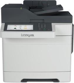 28E0516, CX510de белый, лазерный, A4, цветной, ч.б. 30 стр/мин, цвет 30 стр/мин, печать 1200x1200, скан. 600x