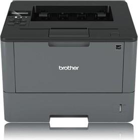HLL5200DWR1, Принтер HL-L5200DW черный, лазерный, A4, ч.б. 40 стр/мин, печать 1200x1200, лоток 250+50 листов, USB