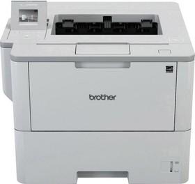 HLL6300DWR1, Принтер HL-L6300DW белый, лазерный, A4, монохромный, ч.б. 46 стр/мин, печать 1200x1200, лоток 520+50