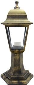 11-12 БР (НТУ 04-60-001 ОСКАР) Светильник-фонарь напольный бронза прозрач стекло