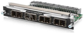Фото 1/2 Модуль HPE JL084A Aruba 3810M 4-port Stacking