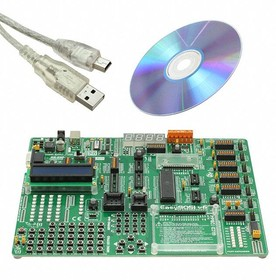 MIKROE-455, AT89S8253 Microcontroller Development Board
