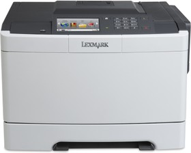 28E0070, CS510de белый, лазерный, A4, цветной, ч.б. 30 стр/мин, цвет 30 стр/мин, печать 1200x1200