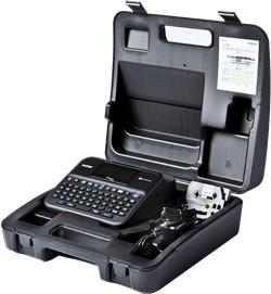 Фото 1/2 PTD600VPR1, Принтер для печати наклеек PT-D600VP (с кейсом для переноски)