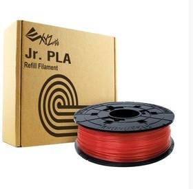 RFPLCXEU02A, Пластик PLA сменная катушка для Junior, Clear Red (красный), 600гр