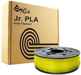 RFPLCXEU03J, Пластик PLA сменная катушка для Junior, Clear Yellow (желтый), 1,75 мм/600гр