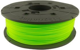 RFPLCXEU0AD, Пластик PLA сменная катушка для Junior, Neon Green (неоновый зеленый), 600гр
