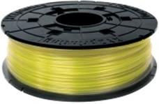 RFPLBXEU03B, Пластик PLA (сменная катушка для картриджа) для da Vinci, Clear Yellow (желтый), 1,75 мм/600гр
