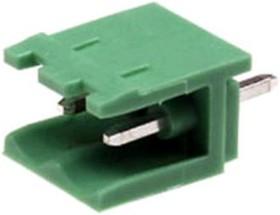 KLS2-EDV-5.08-02P-4 (2EDGV-5.08-02P-14), Клеммник 2-контактный, 5.08мм, прямой