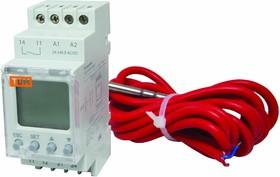 SQ1508-0002, Реле температуры РТ-820M (-25+130C, 24-240В АС/DC, с датч. IP67, ЖК)