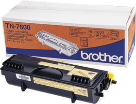 TN7600, Тонер-картридж повышенной ёмкости TN7600 для HL-1650, HL-1670N, HL-1850, 1870N, серии HL-5000, DCP-8