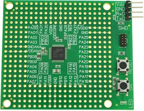 Фото 1/3 SEM0040-SAMD20G16, Программируемый модуль на базе микроконтроллера SAMD20G16