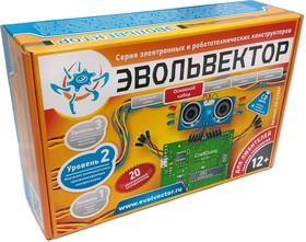 """Фото 1/2 """"ЭВОЛЬВЕКТОР"""" Уровень №2 Основной набор, Набор для изучения основ Arduino"""