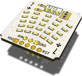 TM7K, Светодиодный стрелочный индикатор уровня, 1 канал, STM32F030F4P6
