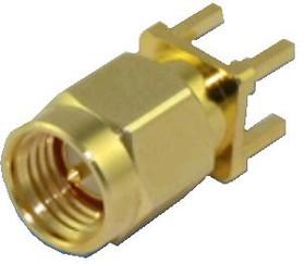 HYR-1148, Разъем SMA, штекер на плату прямой