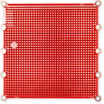 PCB2, Печатная макетная плата 108,5x108,5, двухсторонняя с металлизацией, с крепежными отверстиями