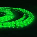 07BL, Лента светодиодная (зеленый) 12В,smd3528, 60д/м, IP65 , 4.8Вт/м ...