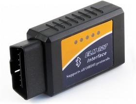 Фото 1/4 Адаптер ELM 327 Bluetooth, OBDII сканер для диагностики автомобилей