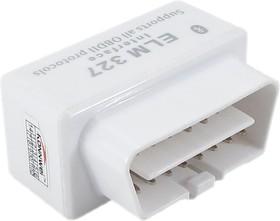 Фото 1/5 Адаптер ELM 327 Bluetooth мини, OBDII сканер для диагностики автомобилей