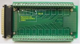 DRB-37-DK-500, Плата переходник для S-Recorder-E/L