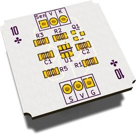 Печатная плата TM10Kv2, Печатная плата с разводкой, FR4 25.8016х28.8мм (1.5мм, 18мкм)