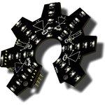 RDC1-0012, Интерактивный, динамический, светодиодный логотип OSHW
