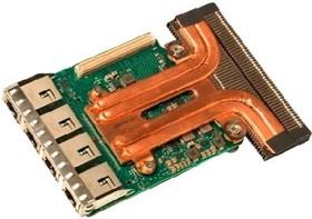 Адаптер Dell 540-BBVC Intel X550 Quad Port 10GbE Base-T rNDC for 14G