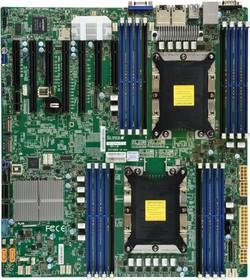 Фото 1/2 Материнская Плата SuperMicro MBD-X11DPH-I-O Soc-3647 iC621 eATX 16xDDR4 10xSATA3 SATA RAID 88E1512 2хGgbEth Ret