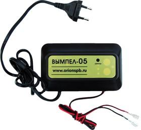 Фото 1/4 Вымпел-05, Устройство зарядное для свинцовых аккумуляторов 12В, 1.2А