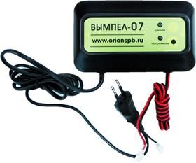 Фото 1/4 Вымпел-07, Устройство зарядное для свинцовых аккумуляторов 12В, 1.2А