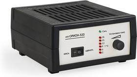 Фото 1/3 НПП Орион-320, Устройство зарядное для свинцовых аккумуляторов 12В, 0-18А