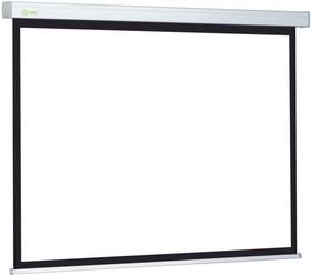 Экран CACTUS Wallscreen CS-PSW-180x180, 180х180 см, 1:1, настенно-потолочный белый