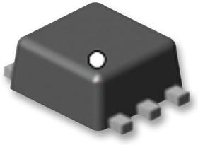Фото 1/3 SI1025X-T1-GE3, Двойной МОП-транзистор, Двойной P Канал, -190 мА, -60 В, 4 Ом, -4.5 В, -3 В