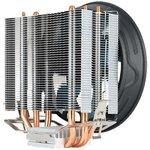 Фото 4/7 Устройство охлаждения(кулер) Aerocool Verkho 3 Plus Soc-FM2+/AM2+/AM3+/ AM4/1150/1151/1155/ 4-pin 18-27dB Al+Cu 125W 528gr Ret