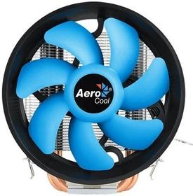 Фото 1/7 Устройство охлаждения(кулер) Aerocool Verkho 3 Plus Soc-FM2+/AM2+/AM3+/ AM4/1150/1151/1155/ 4-pin 18-27dB Al+Cu 125W 528gr Ret