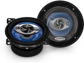 Колонки автомобильные SOUNDMAX SM-CSD403, коаксиальные, 100Вт