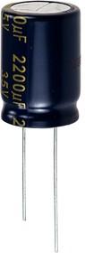 EEUFC1V222S, (К50-35) 2200мкф 35В 105гр, 18х25 5000ч LowImp