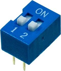 KLS7-DS-02-B-00 DIP переключатель 2 поз.(SWD 1-2)