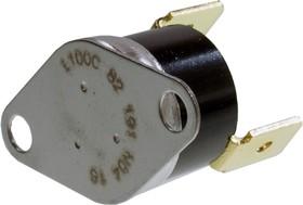 2455R-100/85, термостат 100/85C НЗ 10A 250В фланец 2отв =00820191