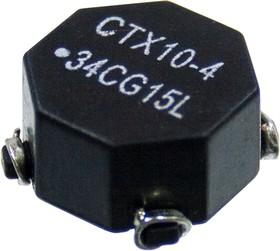 CTX10-4-R, силовая индуктивность 9.6мкГн 3.4А 0.019 Ом 14х14мм