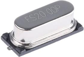 Фото 1/3 FOXSDLF/200-20, Crystal 20MHz ±30ppm (Tol) ±50ppm (Stability) 20pF FUND 40Ohm 2-Pin HC-49/SDLF SMD T/R
