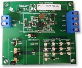 BQ24171EVM-706-15V, Оценочная плата, BQ24171 импульсное зарядное устройство для Li-Ion и Li-Polymer батарей, JEITA
