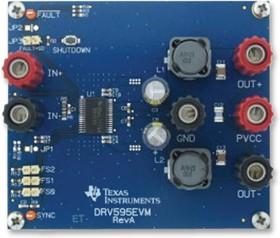 DRV595EVM, Оценочный модуль для высокоэффективного ШИМ драйвера питания 15В/±3А