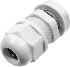 KLS8-0616-MG-16-W кабельный ввод Nylon IP68 6-10mm (AG-16) серый